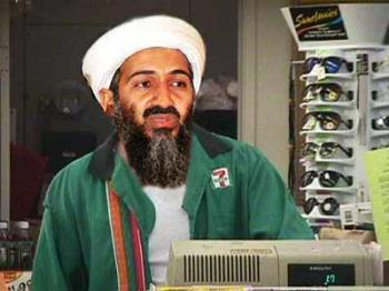 Bin Laden seen at 7-11 - Picture of Bin Ladenworking at 7-11