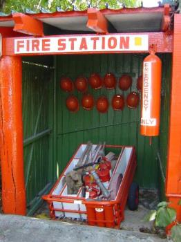 Self Service Fire Station - Photo taken at Fiji