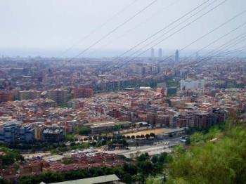 Barcelona - A picture of Barcelona during my parents trip.
