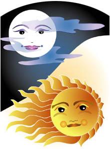 Sun or moon - Sun or moon