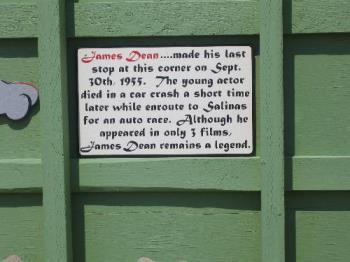James Dean - Sign