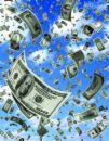 money money money - money falling from the sky