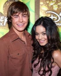 Vanessa and Zach Efron - A pair of High School Musical lead cast