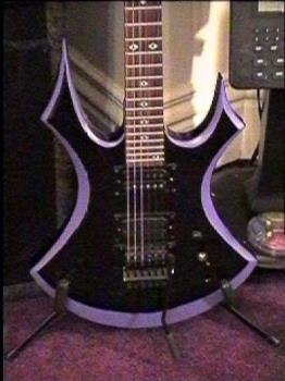 YEAH! rockon! lol - this is one..i cant find my pics of the BC RICH beast.. this is BC RICH virgin