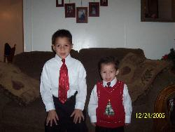 Nicholas and Brandon - Here are 2 of my boys