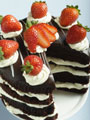 Yummy Chocolate Cake - Delicious looking chocolate cake. I wish I could eat it right now!