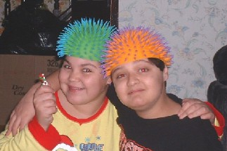 psycho kiddies - this is my daughter and her older brother last xmas