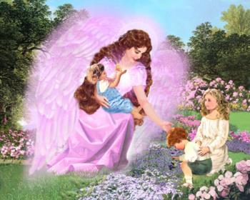 Angel guarding our children - Angel guarding Children