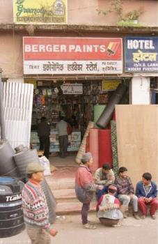 A Road Side Shope - A Road Side Shope in Darjeeling(India)