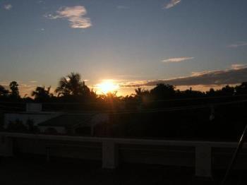 sunset - beautiful sight at chennai
