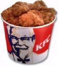 kfc - so good , crispy and delicious. Kentucky fried chicken where the best fried chicken is served.