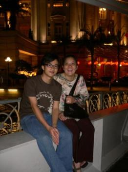 My Mom & Bro - She just the most wonderful woman for me.. Love you mom..