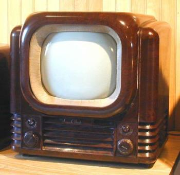 old tv - an old tv