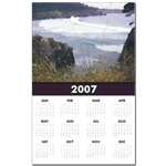 I took this photo of the ocean from the Mendocino  - Buy this calendar now at my store, Art by Cathie