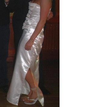 Dress - Its a Three piece (Basque, Skirt & shawl)