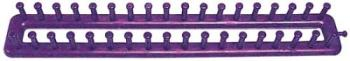 Purple Knifty Knittter  - Knifty knitter board