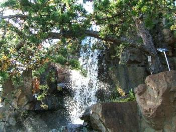 Waterfall - This is a waterfall that I took a picture of in Canada