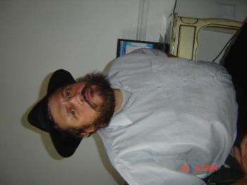 a picture of my better half - Heres a photo of my husband sideways