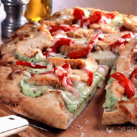 Chicken Pizza - Chicken Pizza