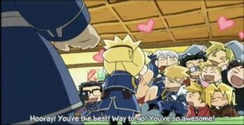 FMA team XD - Chibies the best XD