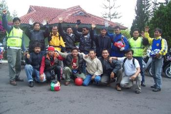 Crews Of Java Touring  - It seems like we are brotherhood , that can't separate by anything ....Cheers