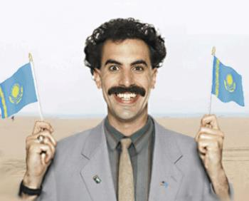 "Borat  - Borat was born in 1972 in Kuçzek, Kazakhstan. He is the son of Asimbala Sagdiyev and Boltok the Rapist, who is also his maternal grandfather. He is also the former husband of Oksana Sagdiyev, who was the daughter of Mariam Tuyakbay and Boltok the Rapist. His relationship with his mother seems to be unpleasant, and Borat has commented that""she wishes she was raped by another man.""Borat has a sister named Natalya, regarded as the fourth-best prostitute in Kazakhstan (and best sex-in-mouth), with whom he often fornicates. He also has a younger brother named Bilo, who is mentally retarded and must be kept locked behind a metal door or in a cage. Bilo also has a pouch were he stores all the porno he looks at inside. In an interview, Borat said,""My brother Bilo has a small head but very strong arms. He have 204 teeth (193 in mouth 11 in nose)! You can do anything to him - he do not remember nothing! He is a sex crazy ... all day long he in his cage look on porno& rub rub rub!""[2]He has been married several times, once to his half-sister's plough. His first wife was Oksana Sagdiyev, another half-sister. She was shot and killed by neighbour Nursultan Tuyakbay, who mistook her for a bear, while accompanying her brother-in-law Bilo on a walk in the forest. Borat was largely unaffected by this event and even celebrated it, as he was able to buy a new wife who he claimed was not boring. He maintains extramarital relations with a girlfriend, a mistress, and at least one prostitute.