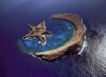 star n crescent - this is a natural wonder.