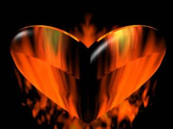 Heart's On Fire - Reach inward and touch those passions that stir within your heart, mind, and soul. They are part of your life.  Remember that love you once held or still hold onto a noticeable degree? Maybe you're lucky and your partner in love still loves you as they first did long ago? Such relationships keep the magic going and going with no batteries required