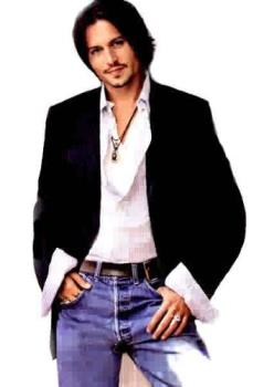 Johnny Depp - I collect the pics of Johnny Depp, so cool now that he has aged like a fine wine! hahaha