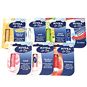 lipsticks - a branch of nivea. lipsycks for lip care