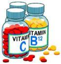 Vitamins - Vitamin Bottles
