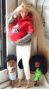 ? - ghetto barbie