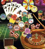 GAMBLING - i don't like to gamble especially my love...