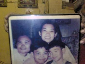 siblings - Me, my sister and brothers.