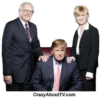 The Apprentice - Donald Trump and his crew for The Apprentice TV program