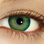 Green Eyes - Similar to my colour eyes, however mine are not contacts.