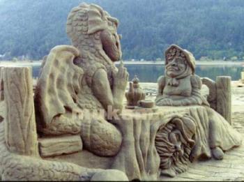 sand art - sand art