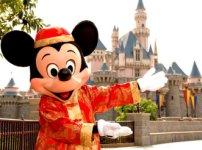 HongKong Disneland - I think this Mickey is cute but I am not sure if I wanna go to HongKong's Disneyland....