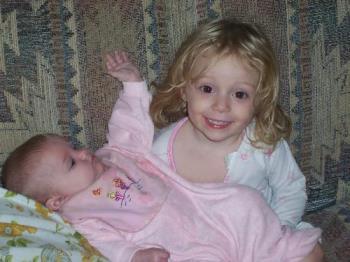 My girls - My 2 girls