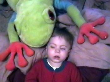 My sleeping prince - My son Logan