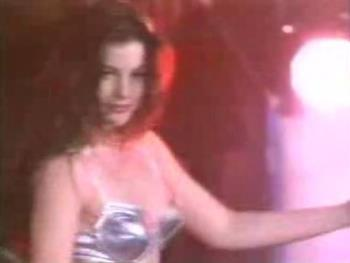 Liv Tyler in 'Crazy' video - Shot of Liv during the pole dancing in Aerosmith's 'Crazy' music video