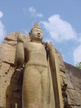Awkana Statue - This is the one of  rock tempel in the sri lanka this caled to awkana Wiharaya
