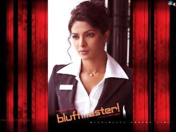 priyanka chopra in bluffmaster - she's so cute!