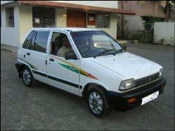 My Car - this is my car...Maruti 800