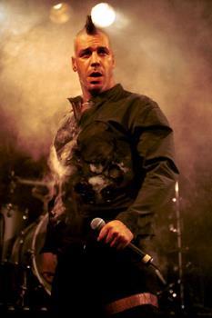 Till - TIll vocals , Rammstein