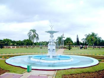 fountain - Photographed in Mysore, India