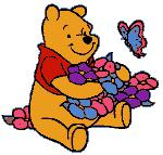 Winnie - Is winnie a boy or a girl? Hmmm.... Let's ask piglet about it. :)