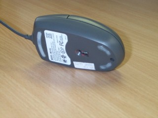 Optical Mouse - An optical mouse is a mouse without the tracker ball. It works on the principle of optics. It is much better than the conventional simple mouse