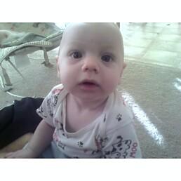 my baby - my son