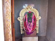 Vinayaka idol at Mysore - Photographed at Mysore, India